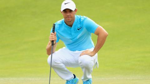 Northern Ireland golf player Rory McIlroy