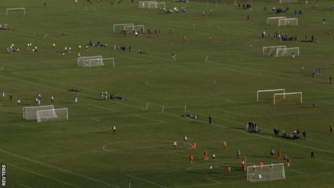 Hackney Marshes pitches
