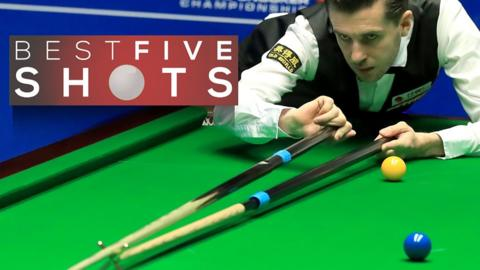 Selby v Xiao - best shots