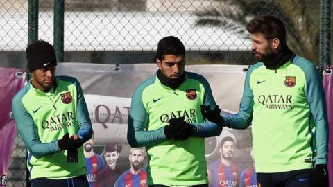 Barca appeal Suarez suspension from final