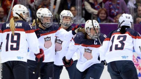 US women's ice hockey team