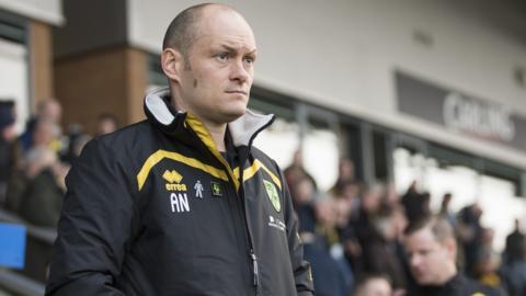 Former Norwich City manager Alex Neil