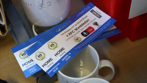 Curzon v Wimbledon tickets