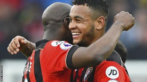 Benik Afobe and Joshua King