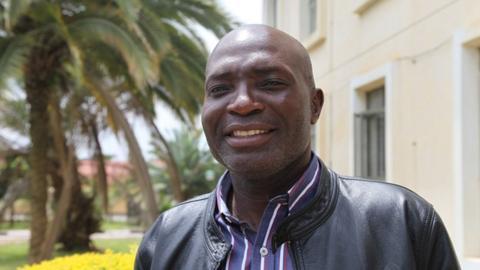 Zambia coach Wedson Niyrenda