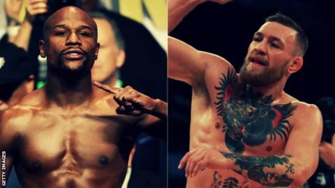 Conor McGregor has come 'leaps and bounds' in Floyd Mayweather training