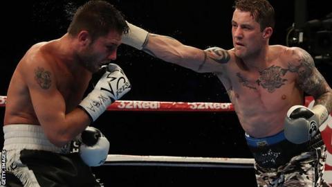 Ricky Burns fighting Kiryl Relikh in October