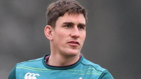 Ian Keatley played at fullback in Munster's win over the Ospreys last week and starts on the bench for Friday's Pro12 game against the Scarlets
