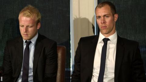 Steven Naismith and Steven Whittaker