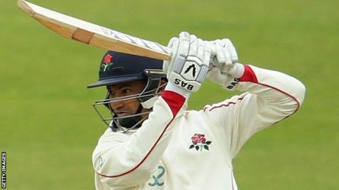 Lancashire batsman Alviro Petersen