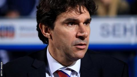 Middlesbrough's Aitor Karanka