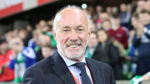 Former Northern Ireland boss Sammy McIlroy