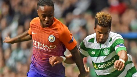 Raheem Sterling and Scott Sinclair