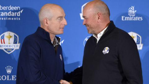 Jim Furyk and Thomas Bjorn