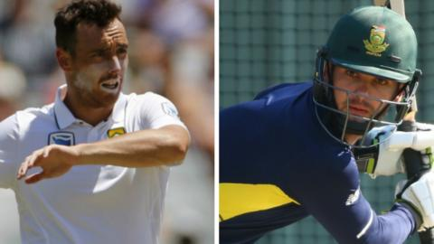 Kyle Abbott and Rilee Rossouw