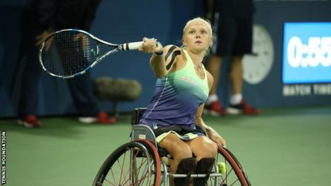 Jordanne Whiley wins US Open