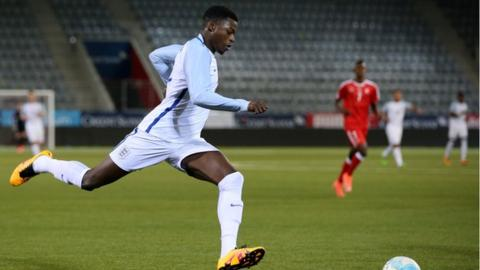 Dominic Iorfa has won two England Under-21 caps this season