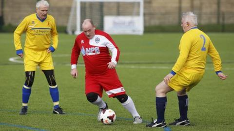 FA People's Cup action