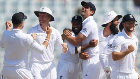 Story of Day Five as England go 1-0 up in Chittagong
