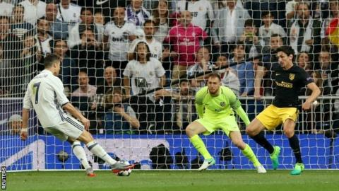 Champions League: Cristiano Ronaldo hat-trick against Atletico leaves Real Madrid on verge of final