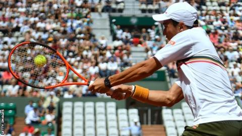 Nishikori to Face Dominant Murray in Q'final