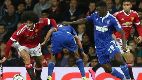 Josh Emmanuel: Rotherham loan Ipswich right-back