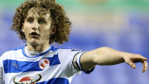 Aaron Kuhl in action for Reading