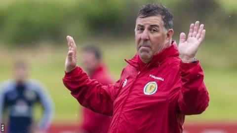 Scotland assistant coach Mark McGhee