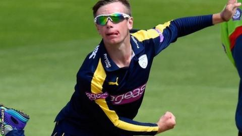 Mason crane has played just 11 first team matches for hampshire across