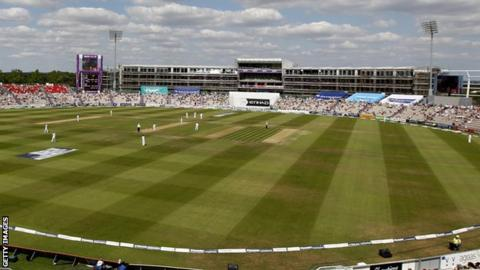 England v India Test match at Ageas Bowl in 2014