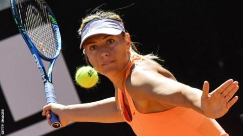Sharapova out of Wimbledon