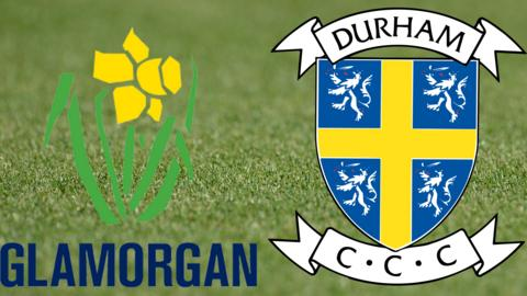 Glamorgan v Durham badges