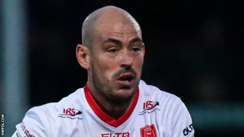 Hull KR half-back Terry Campese