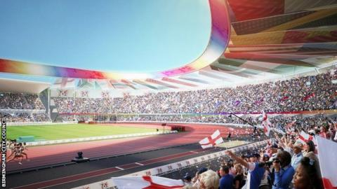 Birmingham chosen for 2022 Commonwealth Games bid