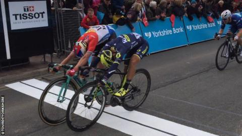 Tour de Yorkshire final metres