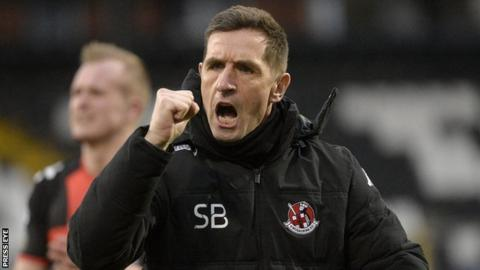 Crusaders manager Stephen Baxter