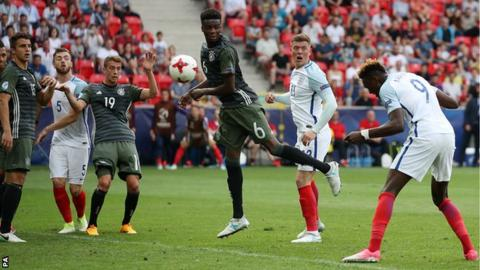 England lose Euro U21 semi-final to Germany on penalties