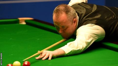 World Championship 2017: John Higgins on verge of semi-final win over Barry Hawkins
