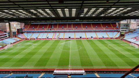 Villa Park has been Aston Villa's home since the club first formed in 1874
