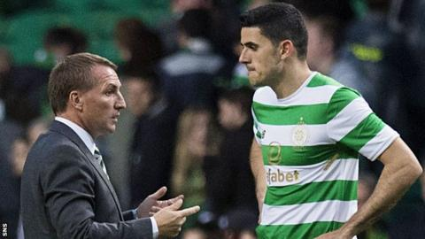 Brendan Rodgers and Tom Rogic