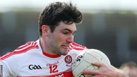 Derry's Danny Heavron scored the only goal in the win over Waterford