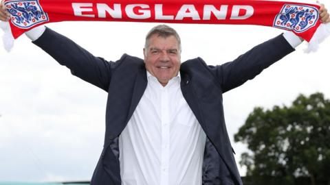 England boss Sam Allardyce