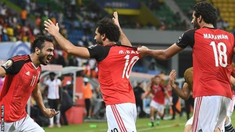 Egypt claim last place in African Nations Cup quarterfinals