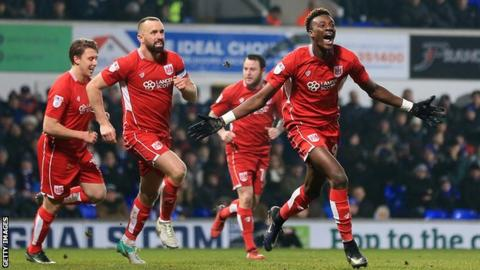 Tammy Abraham claims he has signed new five-year contract at Chelsea