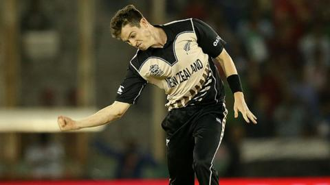 Adam Milne was part of the New Zealand team beaten in the World T20 by England