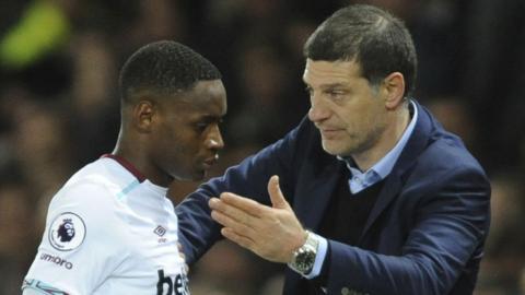 West Ham striker Diafra Sakho