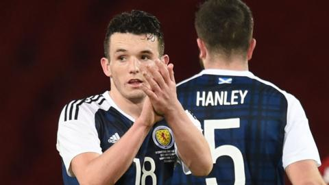 John McGinn was Scotland's man of the match