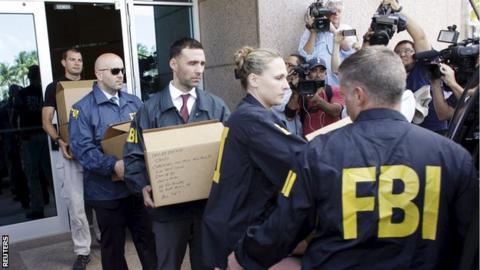 US investigators raid Concacaf offices