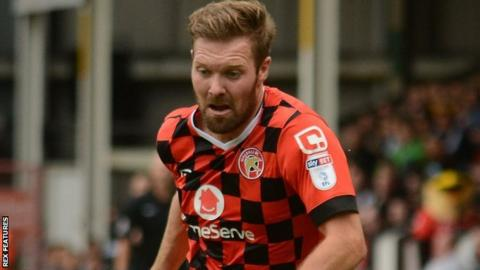 Walsall have not yet lost a game in which Scott Laird has scored