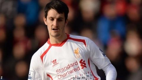 Luis Alberto failed to score in 12 appearances for Liverpool